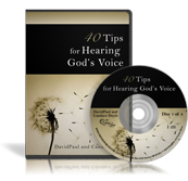 40 Tips for Hearing God's Voice